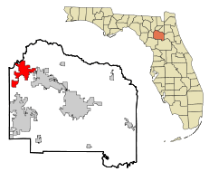 high springs florida map