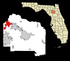 high springs florida map